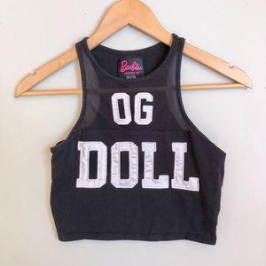 F21 x Barbie OG doll cop